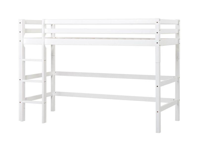 BASIC Mittelhohes Bett Modul 90x200