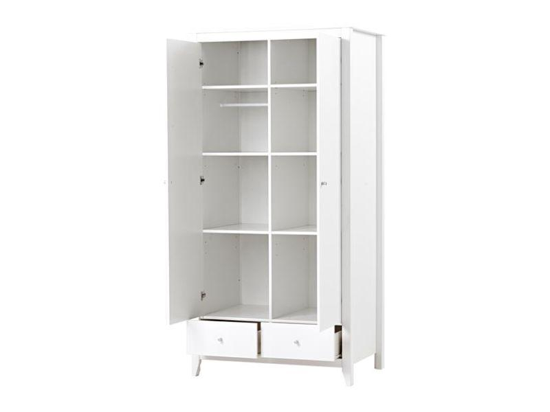 Wardrobe with 2 doors+2 drawers