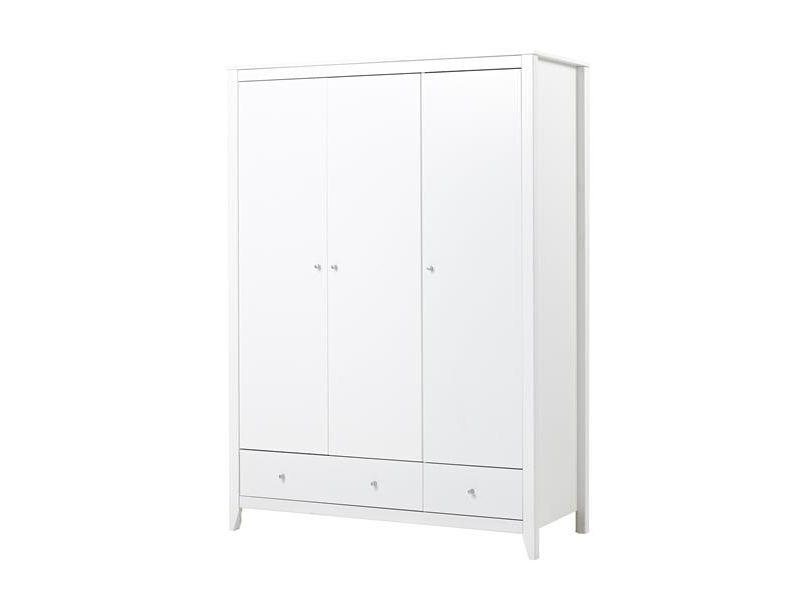 Wardrobe with 3 doors+2 drawers