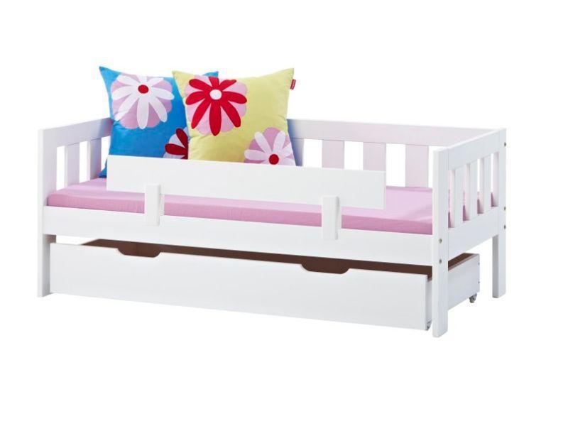 Sängynlaita VALDEMAR valkoinen