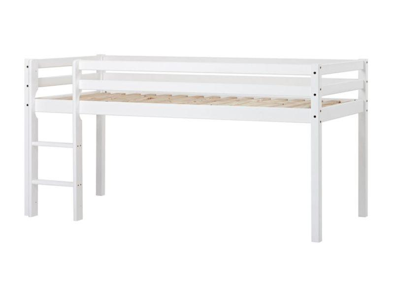 Halfhigh bed BASIC, white