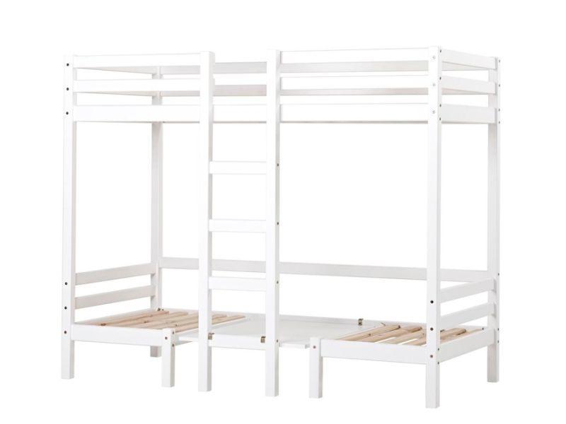 Kerrossänky JUMBO 90x200 cm valkoinen
