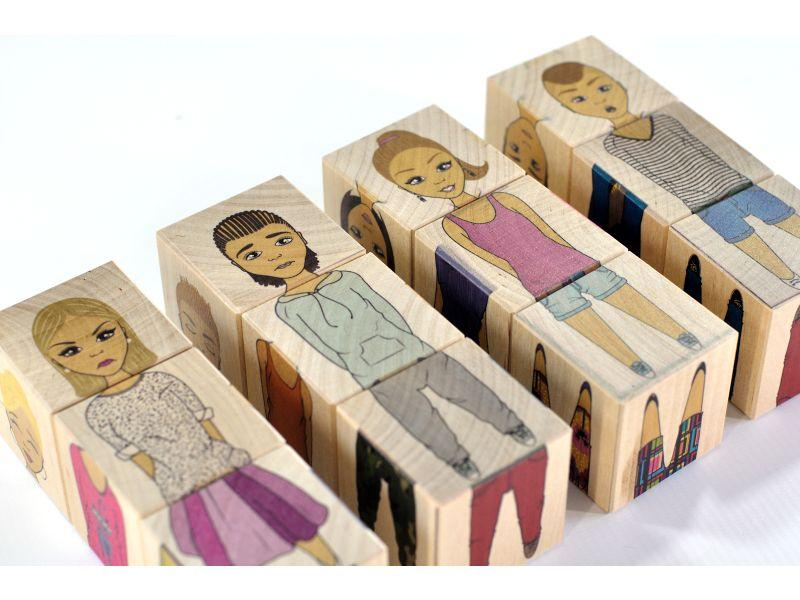 Wooden blocks Fashion