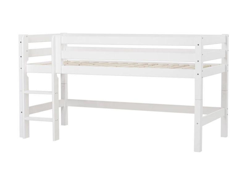 Прямая лестница для полувысокой кровати PREMIUM