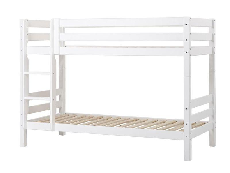 PREMIUM Ladder for bunkbed - straight - white