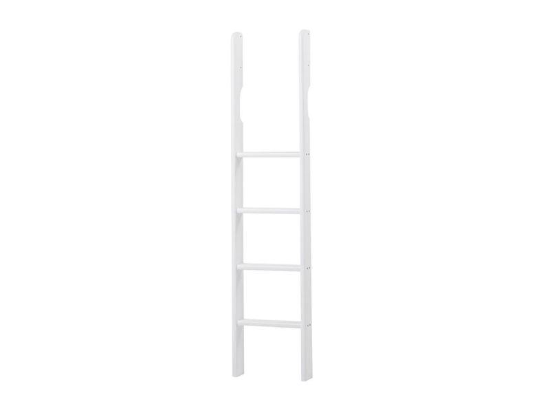 PREMIUM Ladder for high sleeper - straight - white