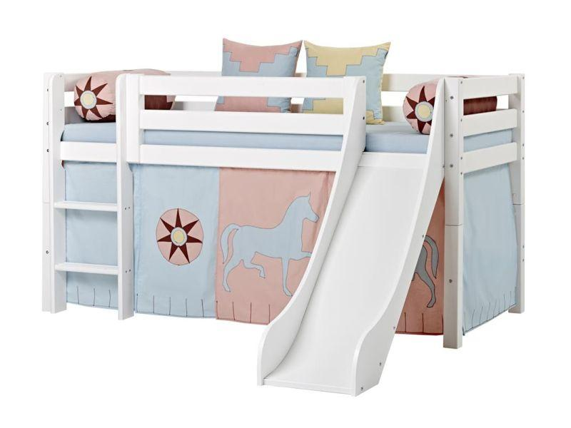 Halfhigh Bed PREMIUM 90x200 with slide