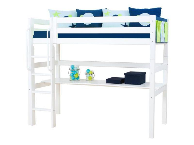 PREMIUM High sleeper 90x200cm - white