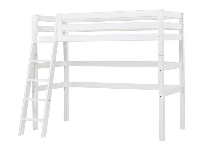 Highbed PREMIUM 90x200 with slant ladder