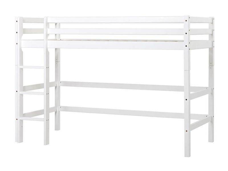 Midhigh Bed BASIC 90x200 white