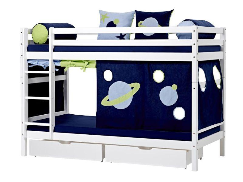 Bunkbed BASIC 90x200 white