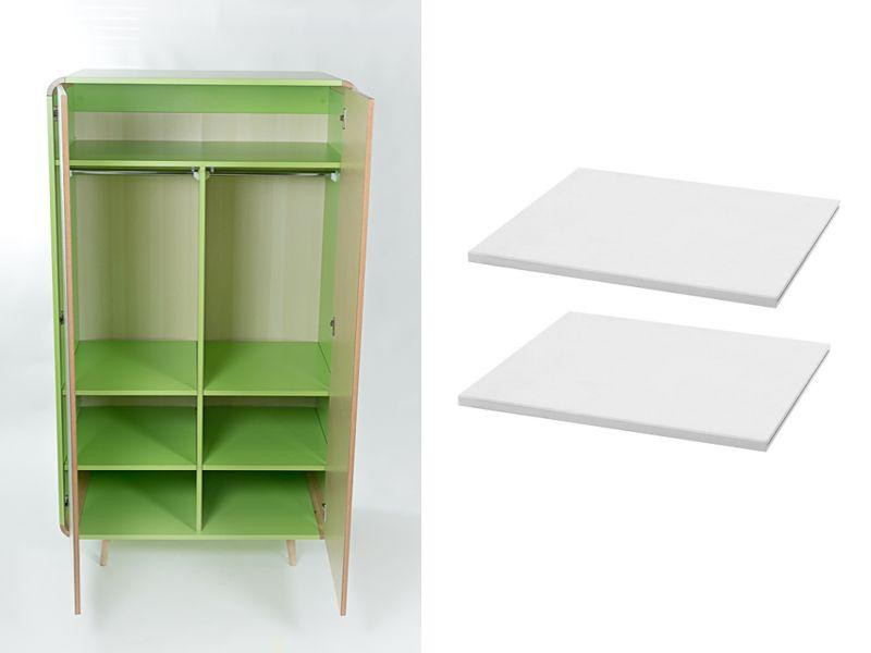 Wardrobe shelves FUN 2 pc