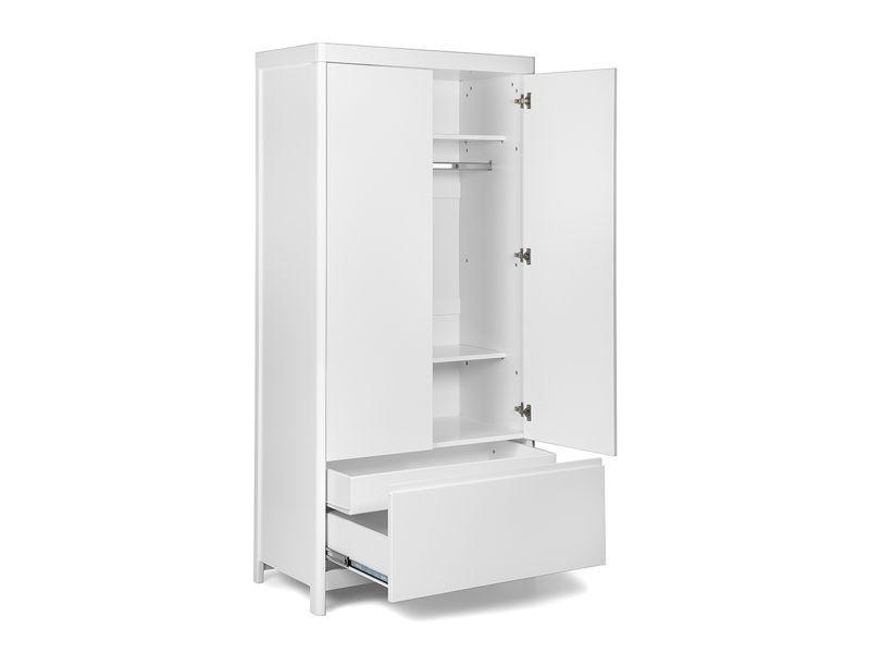 LUKAS wardrobe white