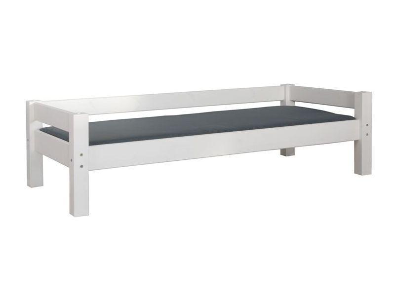 Sohvasänky LAHE 90x190 mänty | valkoinen