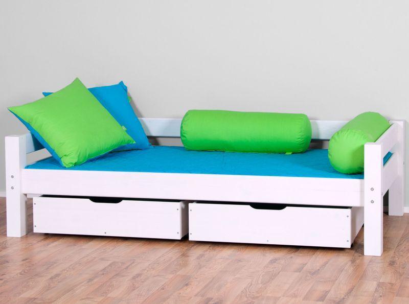 Tagapiirdega voodi LAHE 90x190