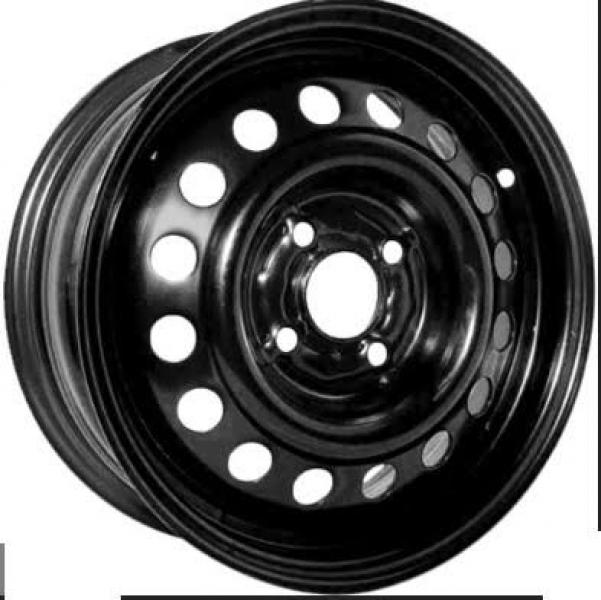 R16x6.5 5X108 ET52.5 63.3 U6075 Plekkvelg Black