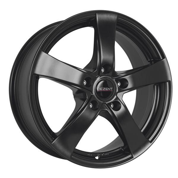 R16x6.5 5x100 ET38 60.1 Dezent RE black