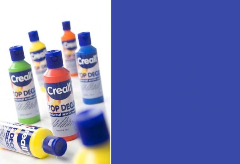 Top deco universal acrylic paint cobalt blue 80ml