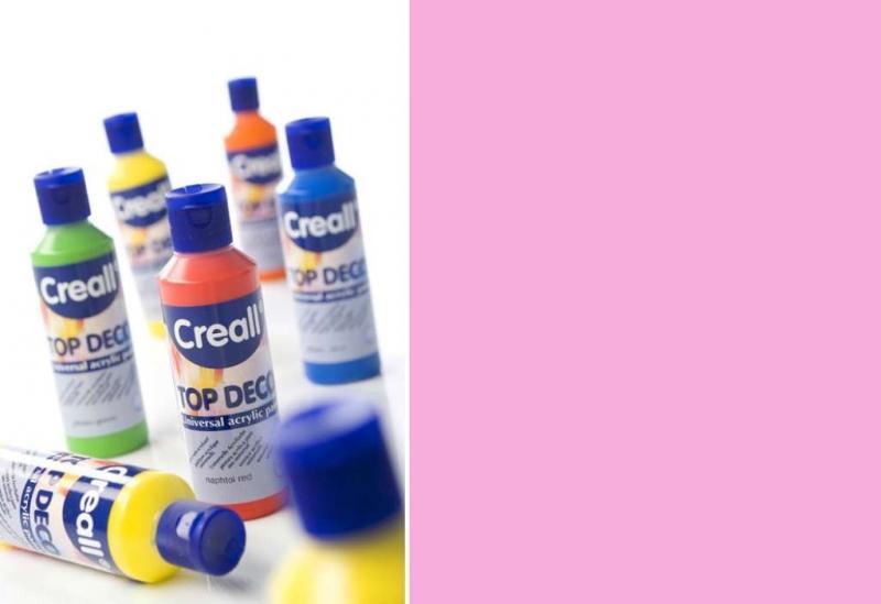 Top deco universal acrylic paint baby pink 80ml