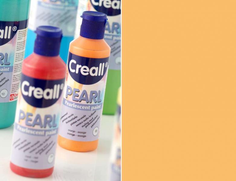 Creall Pearl Pearlescent paint 03 orange 80ml