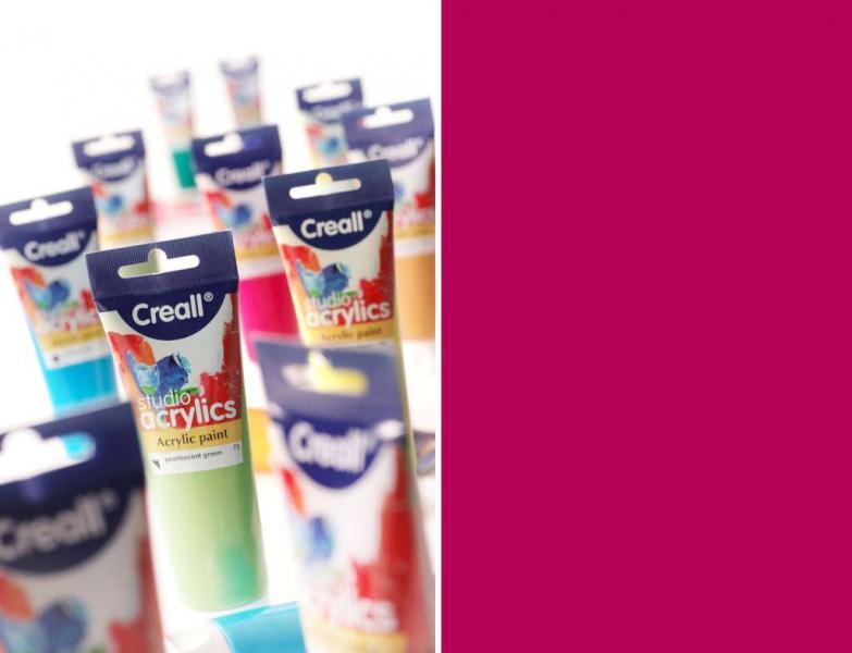 Creall Studio acrylics, Acrylic paint 13 magenta red 120 ml