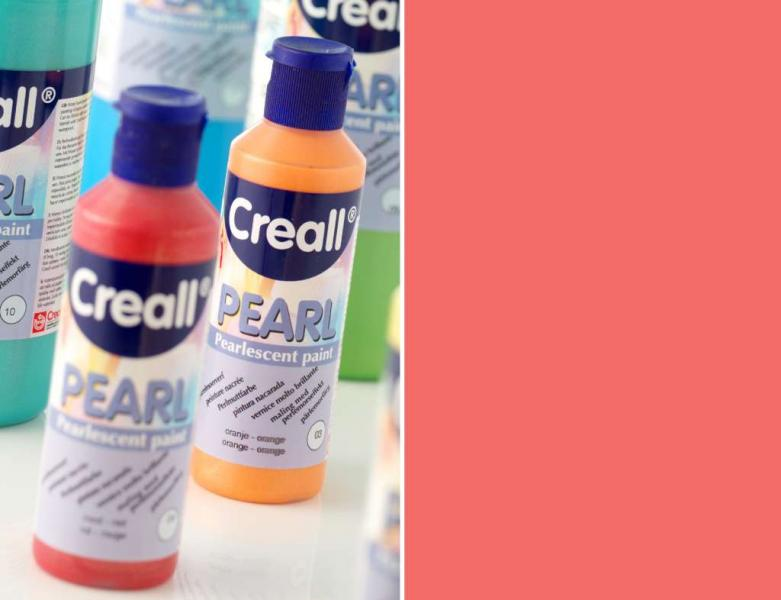 Creall Pearl Pearlescent paint 04 red 80ml