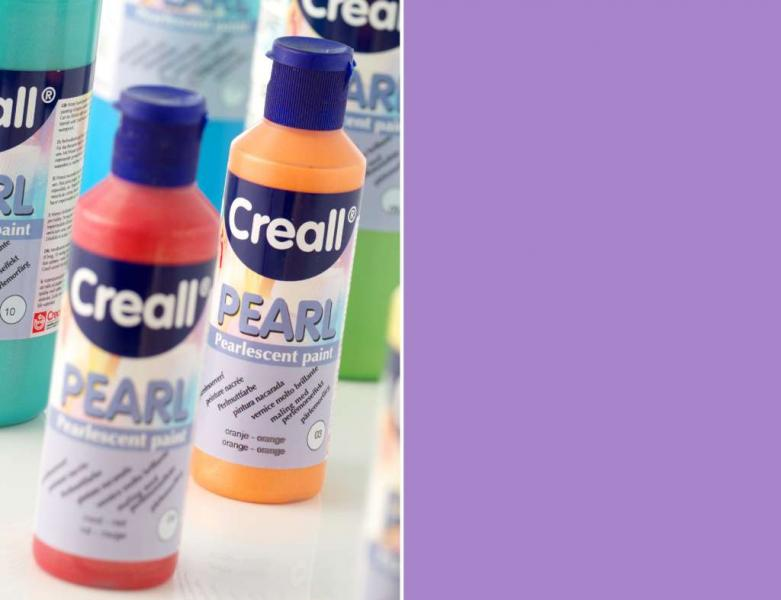 Creall Pearl Pearlescent paint 06 violet 80 ml