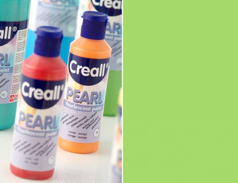Creall Pearl Pearlescent paint 09 green 80ml