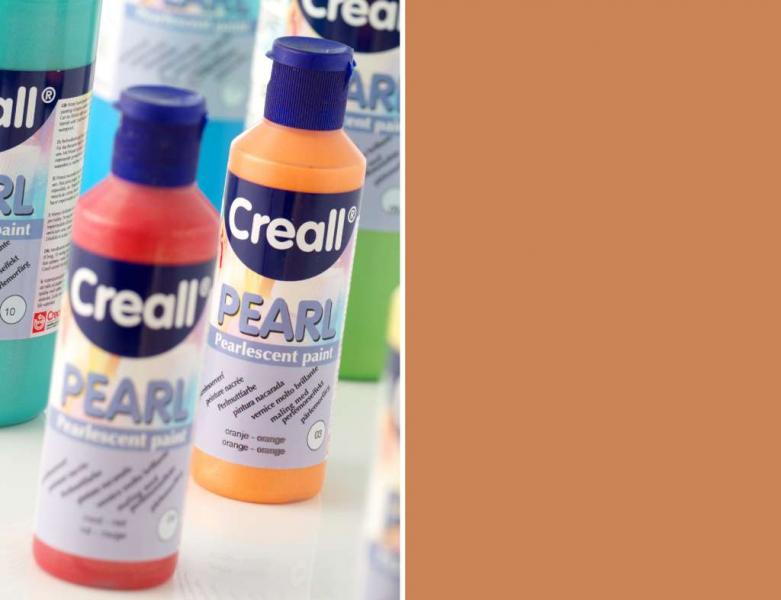 Creall Pearl Pearlescent paint 12 brown 80ml