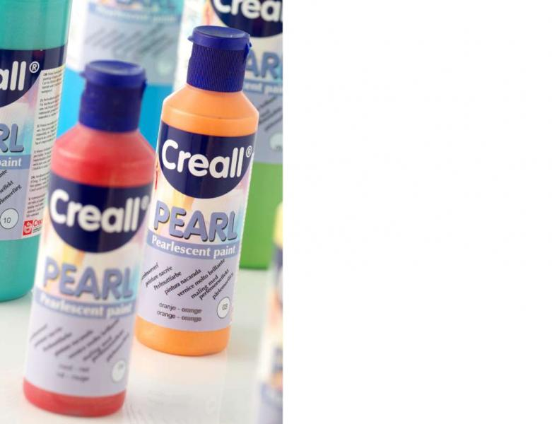 Creall Pearl Pearlescent paint 14 white
