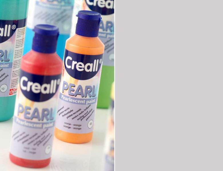 Creall Pearl Pearlescent paint 20 silver 80ml