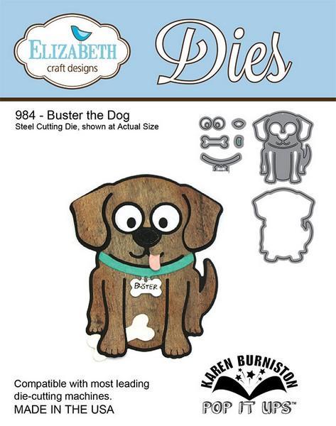 Lõiketera Elizabeth Dies Buster the dog