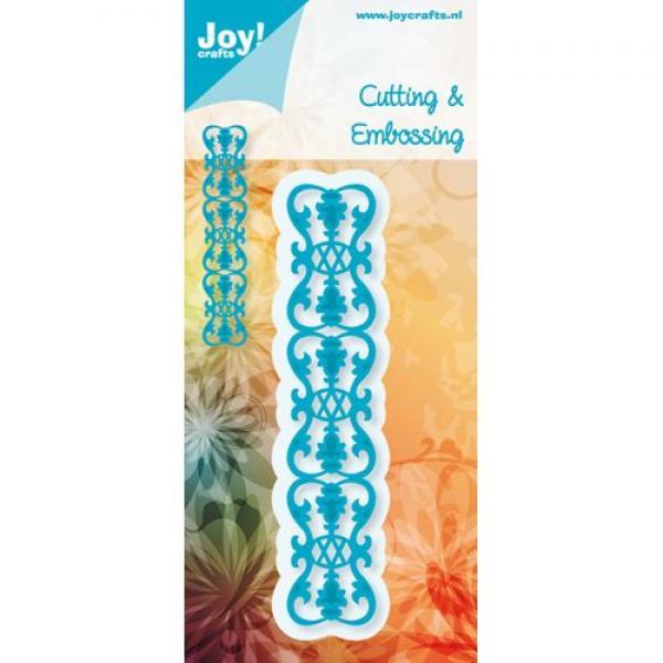 Joy!Crafts Cut-embosstencil border Fleur-de-Lys