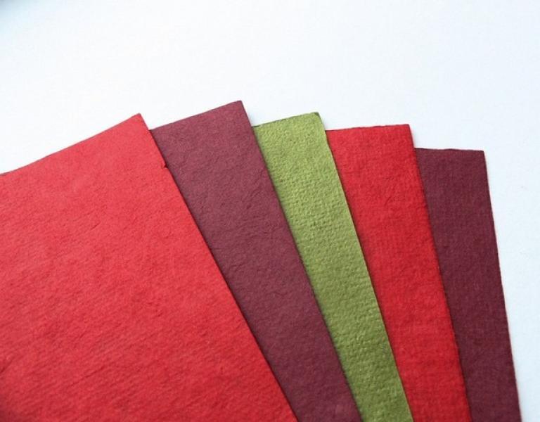 Marianne Design Decoration Mulberry Paper - Christmas colors A5 5pcs 200g/cm