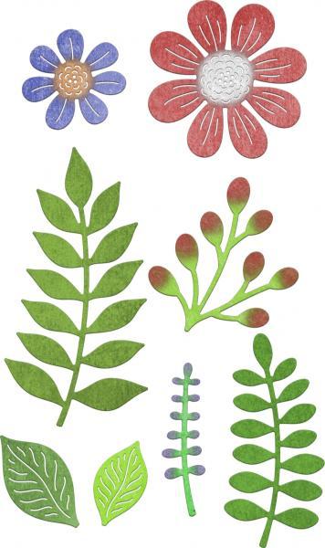 Cheery Lynn Designs Dies - Floral Bouquet Kit