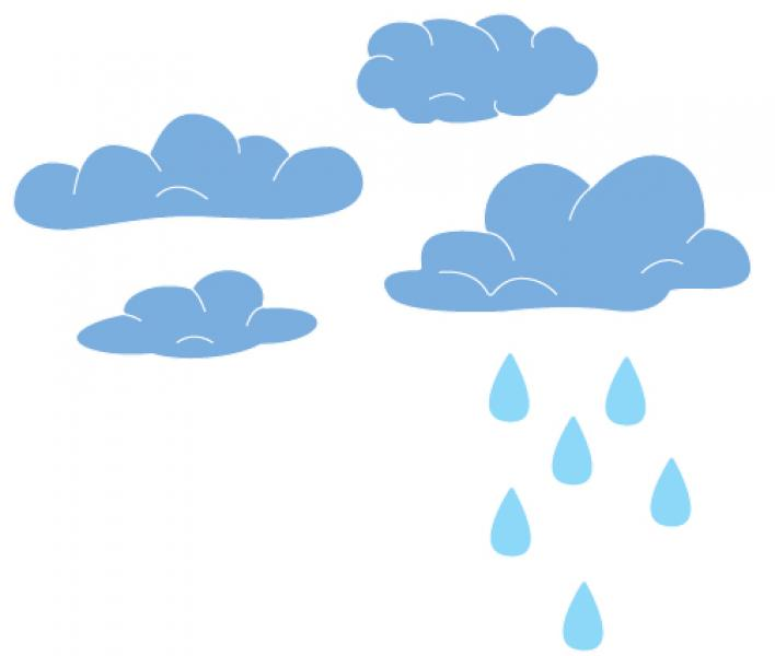 Cheery Lynn Designs Dies - Clouds and Rain