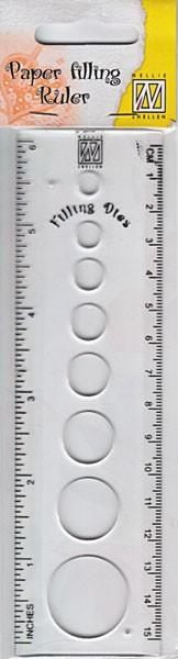 Nellie`s Choice Quilling ruler