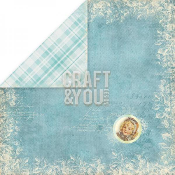 Disainpaber 30x30 Craft&You Frozen Paper 06