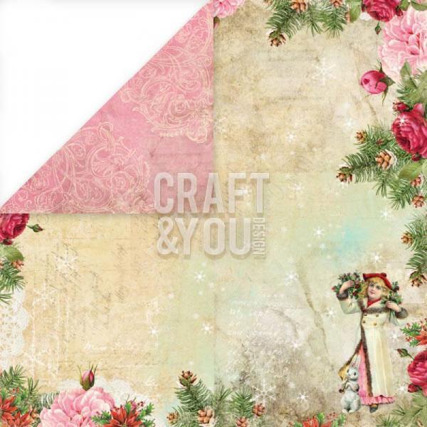Disainpaber 30x30 Craft&You Christmas Story 05