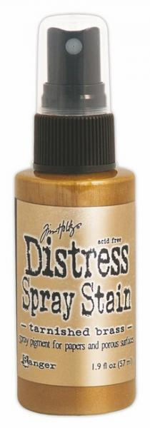 Distress  Ink Spray Tarnish Brass