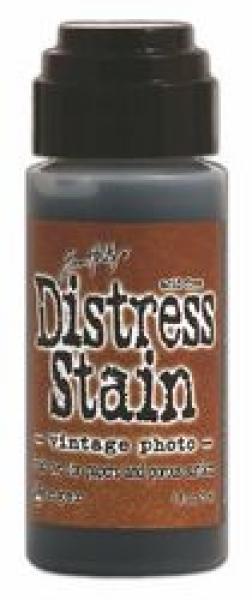 Distress Stain Vintage Photo