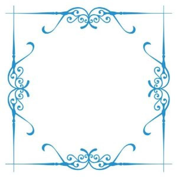 Crafters Companion 20x20 cm Embossalicious Chantilly Frame