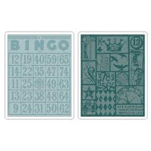 Sizzix 656643 Bingo & Patchwork set