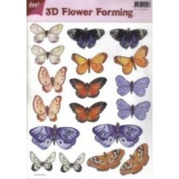 3D Flower Forming sheet