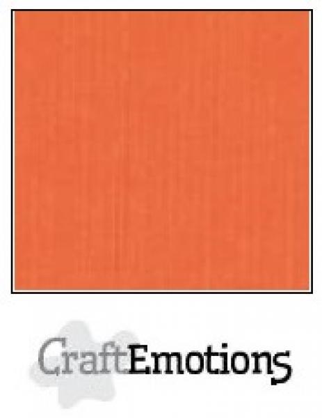 CraftEmotions paber 30,5x30,5 cm 10 lehte pakis oranje