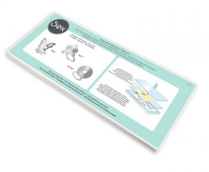 Sizzix Accessory - Extended magnetic platform Wafer Thin Dies