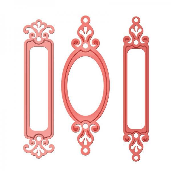 Spellbinders Fancy framed Tags One