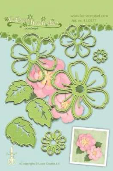 LeCrea - Lea'bilitie Multi die flower 008 blossom cut and embossing die