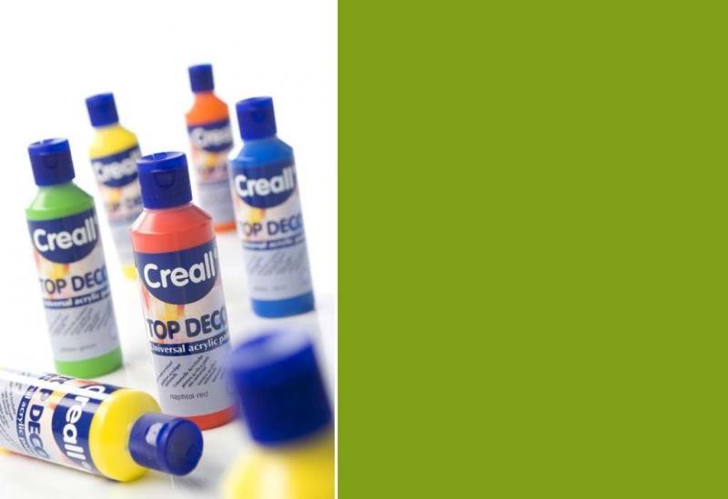 Top deco universal acrylic paint moss green 80ml