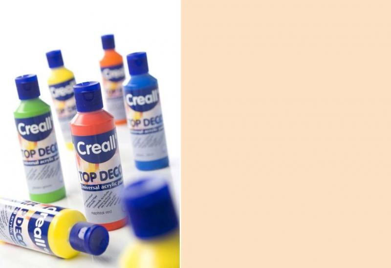 Top deco universal acrylic paint off white 80ml